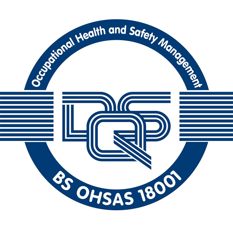 Occupational Health & Safety Management (OHSAS) logo